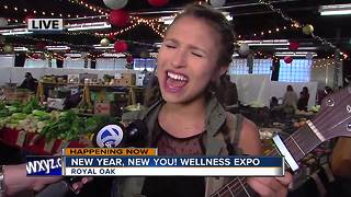 Live Entertainment at Wellness Expo - Video