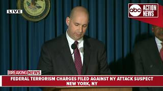 Federal terrorism charges filed against New York attack suspect - Video
