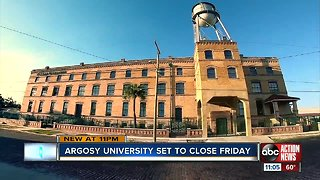 Students left scrambling after Argosy University says campus will shut down