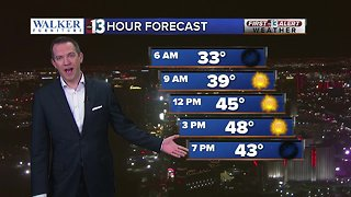 13 First Alert Las Vegas weather updated February 7 morning
