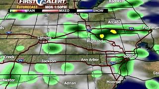 Monday shower chances - Video