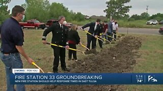 Fire Station 33 groundbreaking