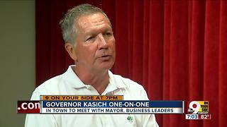 Gov. John Kasich one-on-one - Video