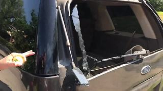 Hyde Park residents wake up to find car windows smashed - Video