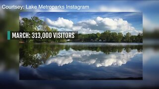 Lake Metroparks sees increase in visitors