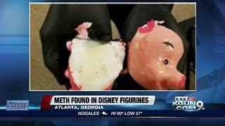 Meth found inside Disney figurines