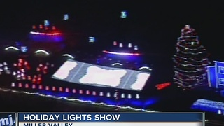 Miller Valley ready for another year of holiday lights display - Video