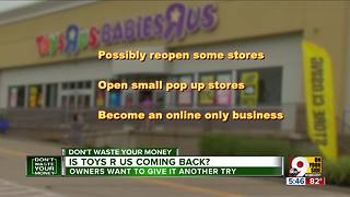 Is ToysRUs coming back?