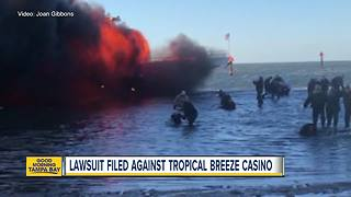 Lawsuit filed against casino shuttle boat company after deadly fire - Video