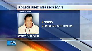 Green Bay Police find missing man - Video