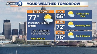 Cleveland Evening Weather Forecast - Video