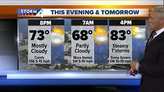 Brian Gotter's Tuesday 5pm Storm Team 4cast - Video