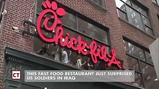 Troops Get Sweet Treat From Chick-fil-a Weeks After Letter - Video