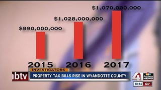 Property tax bills rise in Wyandotte County