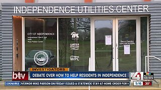 Independence rate payers may get financial assistance