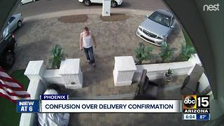 Confusion over delivery confirmation concerning residents - Video