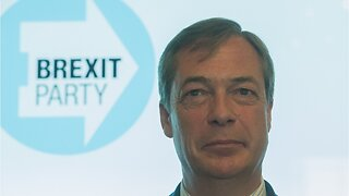 "Nigel Farage was predicting ""big win"" for his Brexit party in EU elections"