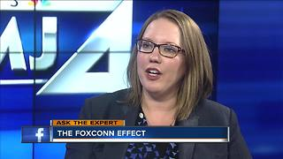 Ask the Expert: How Foxconn will affect local businesses - Video