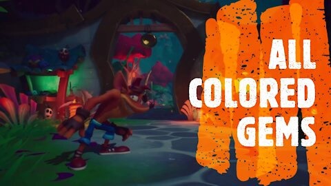 Crash Bandicoot 4: How to find all colored gems
