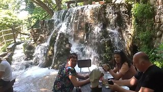 Stunning Restaurant Allows Guests To Sit In Waterfall