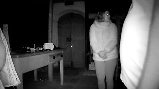 Polite Ghost Opens And Closes Door In Haunted Wine Cellar - Video