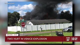 Explosion injures two in Venice