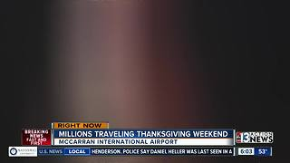 Las Vegas most popular Thanksgiving travel locations - Video