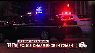 IMPD officer injured following chase on Indy's southeast side - Video