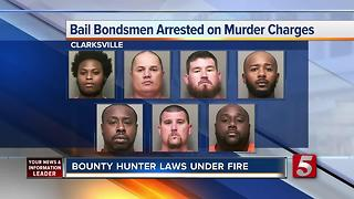 Bounty Hunter Laws Under Fire - Video