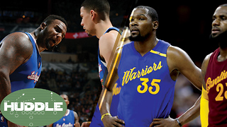NBA Finals Breakdown, Who Looks Dumber Between Austin Rivers & Big Baby? -The Huddle - Video