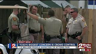 TCSO's Biggest concern is crowd control - Video