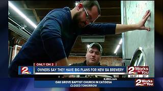 First brewery opening soon in Broken Arrow - Video
