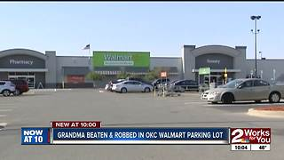 Grandma beaten & robbed in OKC parking lot - Video