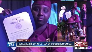 Eufaula teen remembered by community - Video