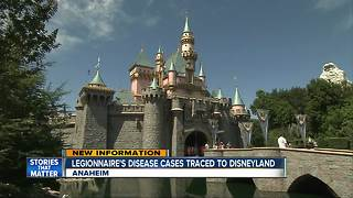 Legionnaire's disease cases traced to Disneyland - Video