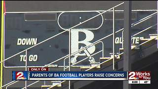 More parents reach out over Broken Arrow football concerns - Video