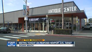 Target may be the only option to replace antique mall in Ocean Beach - Video