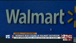 Woman's body found in Walmart bathroom - Video