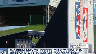 Warren mayor insists on cover up at Freedom Hill - Video