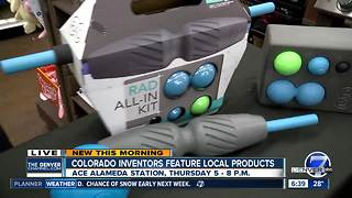 Colorado inventors to feature local products at free event Thursday - Video