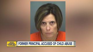 Former Pinellas County principal who sent racially insensitive email accused of child abuse - Video