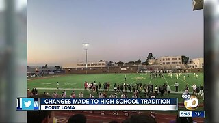 Changes made to high school tradition
