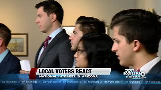 Local voters react to State of the Union - Video