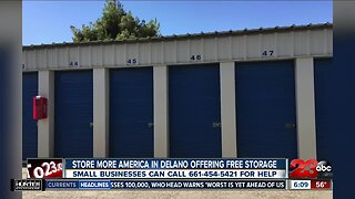 Free storage in Delano for small businesses