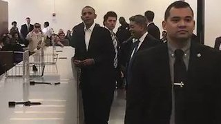 Obama, at Jury Duty, Says It's Important Part of Justice System - Video