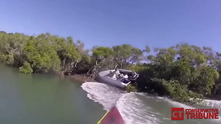 Speedboat Crash - Video