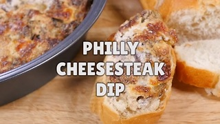 How to make Philly cheesesteak dip - Video