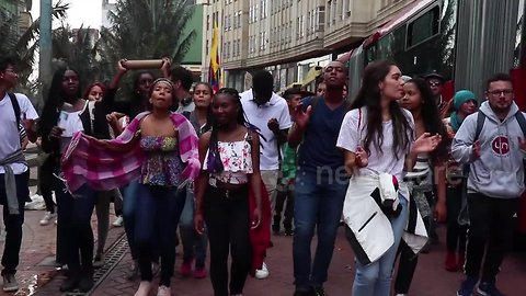 Colombia students stage nationwide protest to demand more budget for higher education