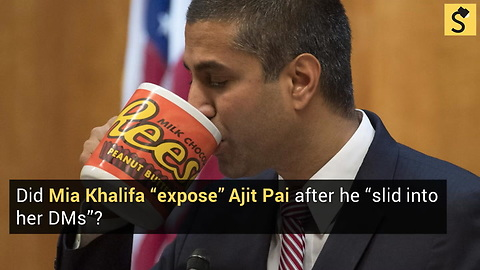 Did Mia Khalifa 'Expose' Ajit Pai After He 'Slid Into Her DMs'?