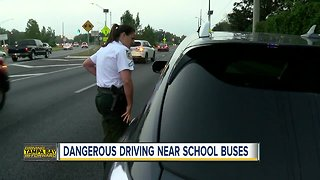 Hillsborough deputies cracking down on drivers who pass stopped school buses - Video